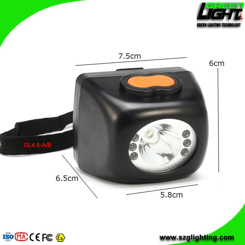 Cordless Led Mining Lamp Rechargeable Miner Headlight with 8000 Lux
