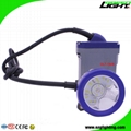 6.6Ah High Low Beam LED Mining Headlamp Waterproof  Miners Cap Lamp with Cable