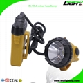25000 Lux Mining Cap Light Waterproof LED Miner Headlamp with 2A 4.2V Charger