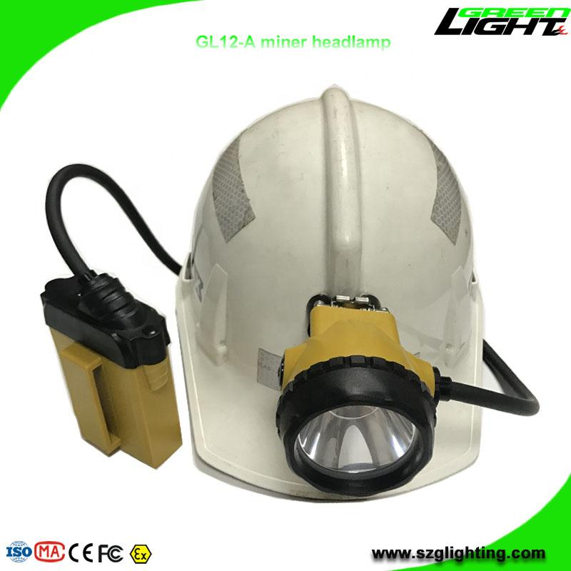 25000 Lux Mining Cap Light Waterproof LED Miner Headlamp with 2A 4.2V Charger  3