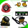 25000 Lux Mining Cap Light Waterproof LED Miner Headlamp with 2A 4.2V Charger  5