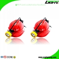 5.2Ah 10000Lux Semi Corded Miners Cap Lamp Waterproof LED Mining Headlamp