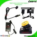 5.2Ah 10000Lux Semi Corded Miners Cap Lamp Waterproof LED Mining Headlamp
