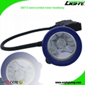 5.2Ah 10000Lux Semi Corded Mining Headlamp Rechargeable Miner Cap Light