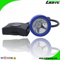 Semi Corded Mining Headlight Rechargeable LED Cap Lamp 1 Main Light 6SMD IP68