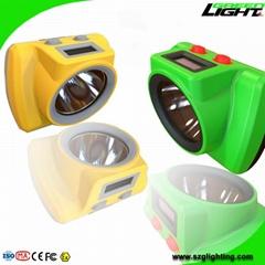 25000Lux Cordless Cap Lamp Brightest LED Mining Headlamp Handy Switch