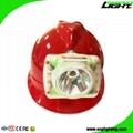 13000Lux Waterproof LED Miner Headlamp