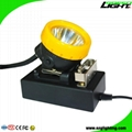 Safety Mining Cap Lamp Rechargeable Miner Hard Hat Light with 18 Hours Work Time 4