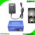 Safety Mining Cap Lamp Rechargeable Miner Hard Hat Light with 18 Hours Work Time 5