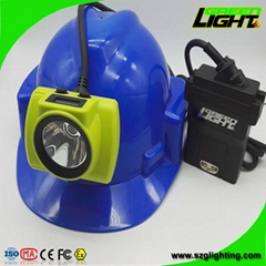 25000 Lux Rechargeable LED Mining Lamp Waterproof Coal Miner Cap Light