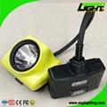 6.8Ah li-ion battery LED mining cap lamp with OLED screen
