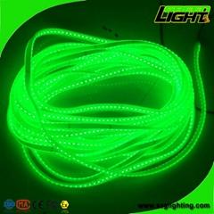 Heavy Duty RGB Green LED Flexible Strip Lights For Underground Mining Tunnel