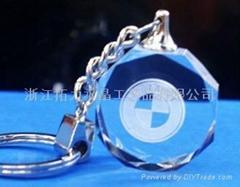水晶鎖匙扣