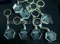 3D水晶锁匙扣