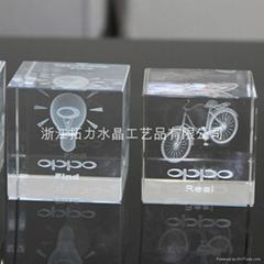 3d雷射水晶内雕礼品