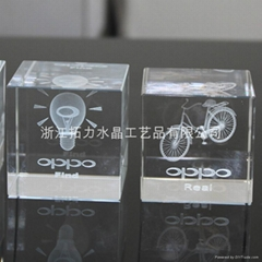 3d crystal laser