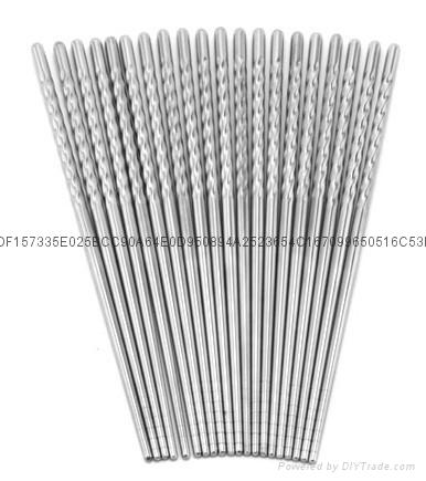 不锈钢筷子 1