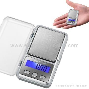 Mini Electronic Palm Scale