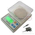 Electronic Kitchen Scale with adapter