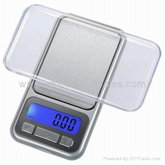 Electronic Pocket Scale with thickness 13.8mm