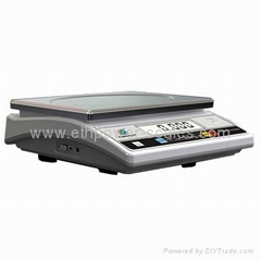 Electronic parcel weighing scale with capacity 30kg/0.1g