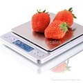 Electronic Kitchen Scale, with capacity 1kg, 2kg, 3kg