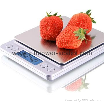 Popular Selling Electronic Pocket Scale, 100g/0.01g, 200g/0.01g, 500g/0.1g 2
