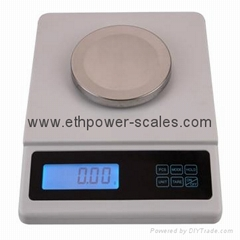Electronic balance with 1000gx0.01g