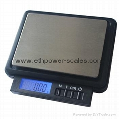 Electronic Pocket Scale with 500gx0.01g and 1000gx0.1g