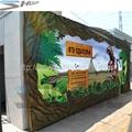 5D cinema dinosaur box