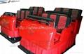 6DOF 5D cinema seat