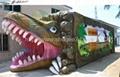 5D cinema dinosaur cabin