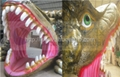 5D cinema equipment with dinosaur box