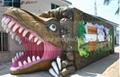 6D cinema with dinosaur cabin,9seats