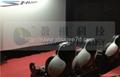 5D motion cinema cabin