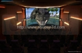 Customized 36 / 50 / 120 Persons 4D Movie Theater Cinema With Motion Theater Sys