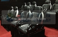 Motion theater chair,pneumatic system,hydraulic system,electric system with the