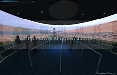360degree XD Theatres ,12 projectors , top technology , amazing theater effect