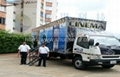 Mobile  7D cinema  truck
