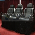 Servo electric 5D cinema seat