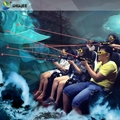 2016 Interactive 7D Shooting Game 7D Gun Cinema Make Visitors Become Active Part