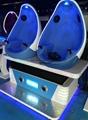 360 Degree Electric 9d Cinema 3 Seats Egg 9d Simulator Cinema