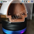 Virtual Reality Experience Hall 9D Egg VR Cinema Simulator With Good VR Experien