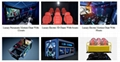 Professional Design 5D Mobile Cinema Customized Size Spray Air, Spray Water