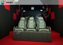 Mobile Movie Theater 2-12 Seats , 5D  Luxury Chair Standard Motion Cinema Simula