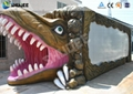 Dinosaur 5D Movie Theater And Equipment ,Motion Cinema Seating With Cup Holder