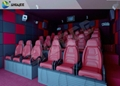 SGS Flexible Cabin 7D Motion Cinema 7 D Theater With NEC Sonipanic Speaker
