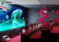 9D Cinema Simulator XD Theatre With 360 Degree VR Glasses / Motion Chair