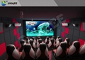 Outdoor 5 D Theater Chair 5D Projector Cinema Game Machine 5D Simulator