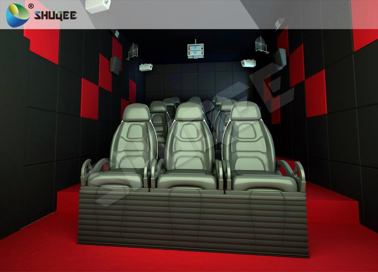 Mini Home Cinema 7d Interactive Theater , Luxury Seats 7d Cinema ...